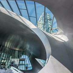 centraal station Arnhem (Jeannette Maandag) Tags: arnhem station color lijnenspel design structuren textures light licht hout metaal glas