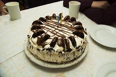 Oreo Ice Cream Cake (Lou Musacchio) Tags: cake birthdaycake oreoicecreamcake food dessert