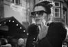 smoke (Erwin Vindl) Tags: smoke streetportrait streetphotography streettogs candid blackandwhite monochrome innsbruck erwinvindl olympusomd em5