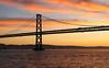 Morning Glory (Gunn Shots (Traveling for a bit)) Tags: sunrise cloud clouds red bay sanfranciscobay sanfrancisco orange pelicans baybridge