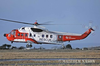 SIKORSKY S61N EI-BHO IRISH HELICOPTERS - DEPT OF THE MARINE