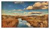 November Afternoon Light ~ Original Poem (Johnrw1491) Tags: poem poetry japanese landscape painterly composite digital art nature wildlife desert river