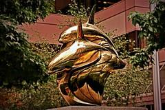 Bronze Killer Whales _2374HSS (Barrie Wedel) Tags: rickswitzer civicpublicart streetart urbanart sculpture bronze orcas killerwhales vancouver britishcolumbia canada