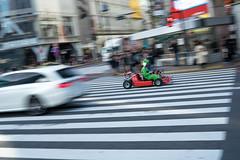 Shibuya, Tokyo (PhilliB123) Tags: sony a7ii 45mm 14 tokyo japan kanto region shibuya idabashi station city scape urban travel holiday go kart yoshi panning