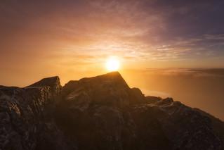 Sunrise over Binnien