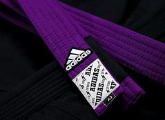 Adidas - Purple Belt (mestremur) Tags: belt jiu jitsu jujitsu arte suave martial art mix purple cinturon marciales artes bjj a3 kimono gi nogi adidas uniforme obi publicidad mestre mur afgustavoulloa rip stop