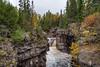 Temperance River Falls m3s (Greg Riekens) Tags: bridge autumn usa northshore fallcolors waterfall temperanceriverstatepark nikond500 waterfalls temperance rapids temperanceriver midwest fall statepark minnesota nikkor