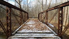Vinton Furnace State Forest (dankeck) Tags: old broken falling apart bridge deteriorating closed winter forest woods vintoncounty southeastern southern rural appalachian appalachia ohio park preserve mcarthur