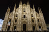 Duomo di Milano, Milano, Italy. (廖法蘭克) Tags: milano italy 米蘭 義大利 canon 6d frank frankineurope photographer photography photograph canonef1740mmf4l vacation relax lover holiday travel duomodimilano dom domofmilano church 米蘭大教堂 教堂 哥德式 gothic night nightview cloudy cloud