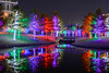 Lighted Tree Bridge (Mike Girard) Tags: addison christmaslights texas vitruvianpark xmas
