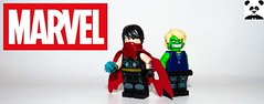 Wiccan and Hulkling (Random_Panda) Tags: marvel lego figs fig figures figure minifigs minifig minifigures minifigure purist purists character characters comics superhero superheroes hero heroes super comic book books films film movie movies tv show shows television avengers avenger mcu assemble infinity war wiccan hulkling