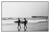 San Diego Pacific beach / (c) abottleinthesea (a_bottleinthesea) Tags: california californie sandiego roadtrip nikon f100 nikkor50mmf14d kodak trix 400tx ilfosol3 filmisnotdead believeinfilm homeprocessing analogphotography boardwalk beach pacificbeach noiretblanc blackandwhite monochrome etatsunis surf pier jetée argentique
