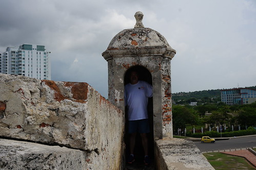 """Part of the 11 Kilometers of Defensive Walls that Protect Old Town Cartagena. • <a style=""""font-size:0.8em;"""" href=""""http://www.flickr.com/photos/28558260@N04/23951651197/"""" target=""""_blank"""">View on Flickr</a>"""