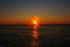 heart_of_darkness (gerhil) Tags: landscape seascape sunset water reflection september2017 serene peaceful sea ocean sky horizon distant