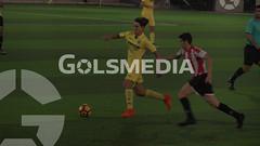 LN JUvenil. Villarreal B - CD Acero (06/12/2017), Jorge Sastriques