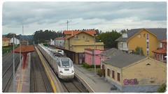 Alvia Ferrol-Madrid Chamartin (javivillanuevarico) Tags: alvia betanzosinfesta trenes galicia madridchamartn ferrol