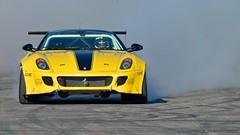 MotorShow17_Ferrari Drift (Luigi Sani) Tags: auto automobili automotive cars race motorshow salonemotori motorcycle moto bologna bolognafiere ferrari ferrari599 drift turbo fiorano