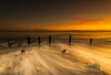 Golden Backwash (Steven Peachey) Tags: seascape sunrise golden ef1740mmf4l canon5dmarkiv canon manfrotto seaham beach lee09gnd