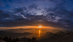 There was a magical sunset today (Vagelis Pikoulas) Tags: sun sunset sea seascape landscape mountains mountain view sky clouds cloudy cloud porto germeno greece kithairwnas kithaironas autumn november 2017 canon 6d tokina 1628mm panorama panoramic pano vertical