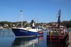 Fishing boats Ulladulla harbour (RossCunningham183) Tags: fishingboat boat ulladulla nsw australia harbour