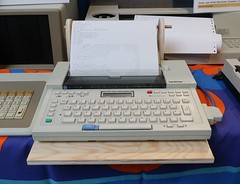 Brother EP-44 Schreibmaschine/Drucker (1984) (stiefkind) Tags: vcfb vcfb2017 vcfb17 vintagecomputing brother ep44