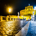 Rome - Castel Sant'Angelo at night