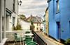 The road from Cawsand to Kingsand, Cornwall (Baz Richardson) Tags: cornwall cawsand garrettstreetcawsand narrowstreets cafes villages streetscenes