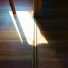 構成=Composition-133/The lines sleeping in darkness and light (kouichi_zen) Tags: room shadow wood floor light brown door