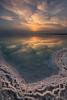 Sunrise at the Dead Sea (Alex Savenok) Tags: sunrise deadsea мёртвое море salt savethedeadsea ecologyproblems israel israelnature sunlight water reflection relax relaxing resort