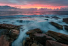 Because (Crouchy69) Tags: sunrise dawn landscape seascape ocean sea water flow motion waves coast clouds sky rocks dolphin point giles baths coogee beach sydney australia