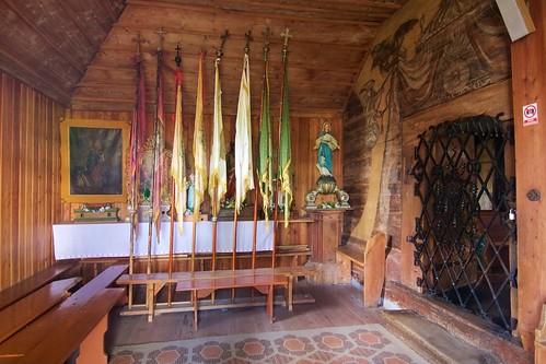 Wnętrze południowej kruchty kościoła Wszystkich Świętych w Bliznem