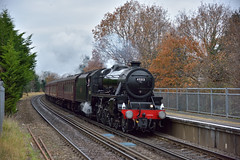 Off to Bath (ianmartian) Tags: steam stanier black5 45212 1z92 cathedrals ash alton bath midhants surrey