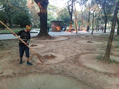 Art can be anywhre (emon.vq) Tags: art publicart landart liveart activity nature contemporaryart earth arban artist muhammadzakir dhaka bangladesh