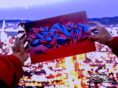 DREAM...!! (Danny Boligraffiti) Tags: graff graffiti tag night imaginacion original photograpy arte art aerosol azul wallpaper calle color fondo follow booh noche photo quito texto sueños pictures picture dibujo dream 2017 desenfoque sketch like diseño ecuador street