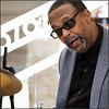 Roswell Jazz Festival 2017 - Jazz Drumming (newmexico51) Tags: drummer drumming jazz roswelljazzfestival jazzfestival man glasses goatee roswell nm newmexico gregorypeterson