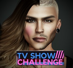 TV SHOW CHALLENGE!!! (arcangel 33) Tags: drag show tv sl secondlife avatar retrato competition lindens queen