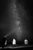 Une lueur dans la nuit (tof-lo62) Tags: voie lactée milky way dolmen menhir bretagne brittany night nuit france lagatjar alignements noir et blanc black white presquile de crozon camaret sur mer