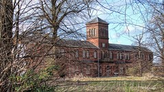 Asylum Through The Trees (Ian Gedge) Tags: england uk britain eastanglia norfolk norwich thorpe asylum derelict abandoned decay urbandecay