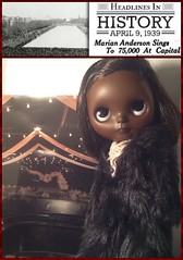 Blythe-a-Day#7. Equality: Dora as Marian Anderson (1897-1993)