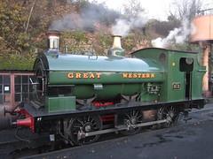 IMG_8002 - GWR Hudswell Clarke Saddle Tank 813 (SVREnthusiast) Tags: severnvalleyrailway svr severnvalley severn valley railway gwrhudswellclarkesaddletank813 gwr hudswellclarke saddletank 813