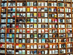 dominion of books (raisalachoque) Tags: 7dwf ctt square publiclibrary seoul coex library shelves book