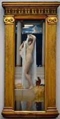 Frederic, Lord Leighton (1830-1896) - The Bath of Psyche (1890), Tate Britain, July 2015 (ketrin1407) Tags: frederick lordleightonlordleightonpaintingnudenakedsensualeroticmythologycupidandpsychepsychebathframetatebritainvictorian19thcentury
