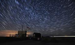 Witerton beach car park (dickie44) Tags: nightscape landscape startrail norfolk wintertononsea nikon d7200 longexposure