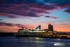 Crown Seaways (Aviation & Maritime) Tags: crownseaways dfds dfdsseaways ferry carferry passengerferry passengership cruiseferry oslo norway sunset evening eveningmood