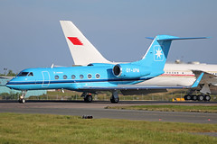 OY-APM Gulfstream G400 Maersk Stansted 10th May 2017 (michael_hibbins) Tags: