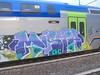 yo bruno!! (en-ri) Tags: mista ohc crew arrow lilla azzurro nero train torino graffiti writing 2017