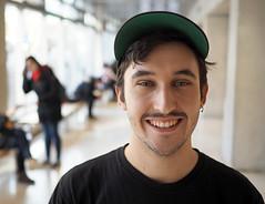 Jesse (jeffcbowen) Tags: jesse street stranger toronto thehumanfamily student