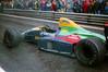 F30B14 1989-08-27 Grand Prix Belgien, Lola Lamborghini von Philippe Alliot (hofmann_joachim) Tags: formel1 belgien spa spafrancorchamps regenrennen lola lolalamborghini lc89 lolalc89 philippealliot alliot ausfall