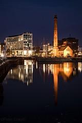Canning Dock (kierhardie) Tags: liverpool merseyside pierhead canningdock nighttime