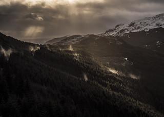 Burning Mist - Loch Eck Nov 2017